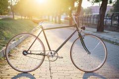 Bicicleta clássica do estilo imagem de stock