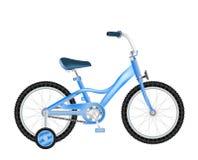 Bicicleta com cesta Foto de Stock
