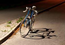Bicicleta com sombra Imagem de Stock