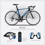 Bicicleta con el accesorio Fotos de archivo libres de regalías