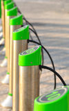 Bicicleta contra-roubo. Fotografia de Stock Royalty Free