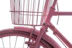 Bicicleta cor-de-rosa Imagem de Stock Royalty Free