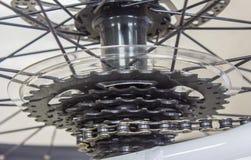 Bicicleta da engrenagem Fotografia de Stock