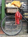 Bicicleta da entrega foto de stock royalty free