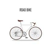 Bicicleta da estrada ilustração do vetor
