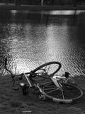 Bicicleta de Amsterdam Foto de archivo libre de regalías