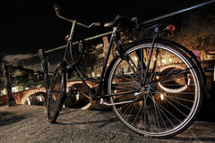 Bicicleta de Amsterdão Imagens de Stock Royalty Free