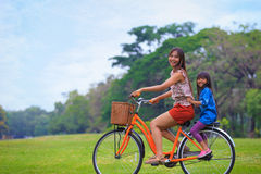 Bicicleta de ciclagem Foto de Stock Royalty Free