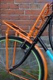 Bicicleta de Colorfull em Amsterdão Fotos de Stock Royalty Free