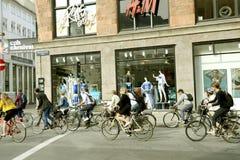 Bicicleta de Copenhague Fotografía de archivo libre de regalías
