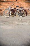 Bicicleta de la ciudad Foto de archivo libre de regalías