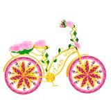 Bicicleta de la fantasía Imagen de archivo