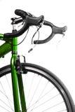 Bicicleta de la raza Imagen de archivo libre de regalías