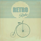 Bicicleta de la rueda Foto de archivo