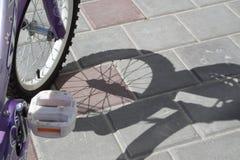 Bicicleta de los niños Foto de archivo
