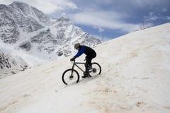 Bicicleta de montanha Imagem de Stock