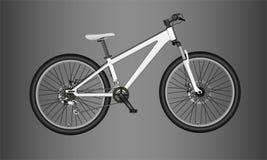 Bicicleta de montanha ilustração stock