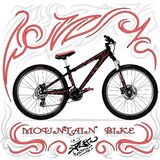 Bicicleta de montanha Fotos de Stock Royalty Free
