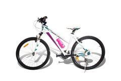 Bicicleta de montanha no fundo branco Imagens de Stock Royalty Free