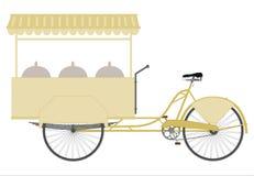 Bicicleta do gelado. ilustração royalty free