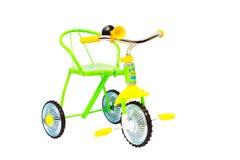 Bicicleta de tres ruedas para los niños Fotos de archivo libres de regalías