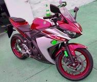 Bicicleta de YAMAHA R3 Imagens de Stock