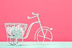 Bicicleta decorativa Imágenes de archivo libres de regalías
