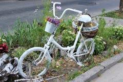 Bicicleta decorativa Foto de archivo
