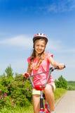 Bicicleta del paseo del adolescente Imagen de archivo libre de regalías