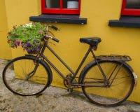 Bicicleta del vintage en Bunratty imágenes de archivo libres de regalías