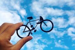 Bicicleta do brinquedo Fotografia de Stock