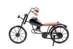 Bicicleta do brinquedo do metal foto de stock
