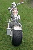 Bicicleta do cromo Fotografia de Stock