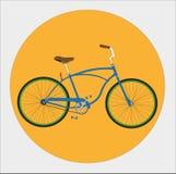 Bicicleta do cruzador ilustração royalty free