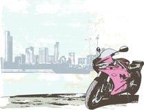 Bicicleta do esporte ilustração stock