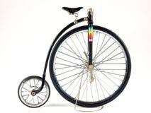 Bicicleta do Farthing da moeda de um centavo Imagem de Stock