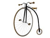 Bicicleta do farthing da moeda de um centavo Imagem de Stock Royalty Free