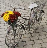 Bicicleta do metal Imagens de Stock