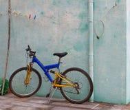 Bicicleta do miúdo. Fotos de Stock