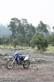 Bicicleta do motocross Imagens de Stock