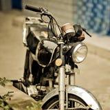 Bicicleta do motor Imagens de Stock Royalty Free