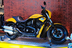 Bicicleta do motor de Harley Imagem de Stock Royalty Free