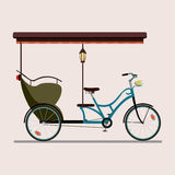 Bicicleta do passageiro pesada Fotos de Stock Royalty Free