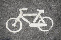 Bicicleta do símbolo Imagens de Stock