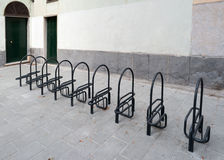 Bicicleta do sistema do estacionamento Imagens de Stock