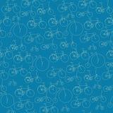 Bicicleta do teste padrão Ilustração do Vetor