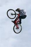 Bicicleta do truque de Teva a melhor Fotografia de Stock Royalty Free