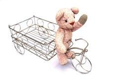 Bicicleta do urso ilustração royalty free