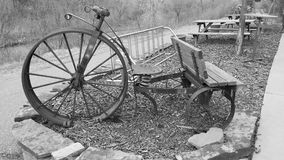 Bicicleta do vintage Imagem de Stock Royalty Free