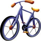 Bicicleta dos desenhos animados ilustração stock